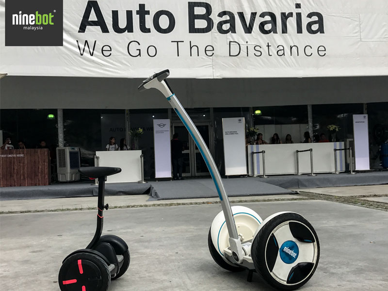 Ninebot Malaysia in conjunction with Auto Bavaria Test Drive Roadshow @ Mines 2
