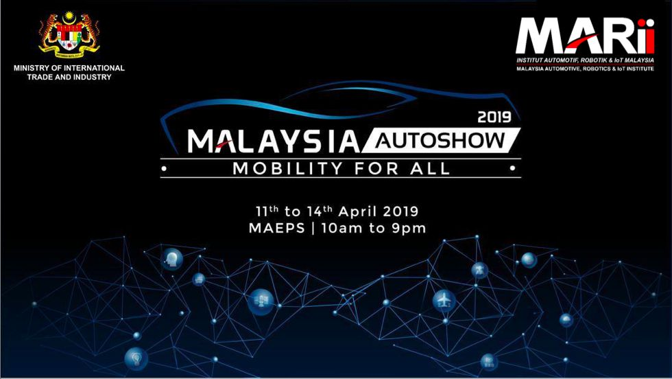 MARI 2019 : Malaysia AutoShow Mobility For All